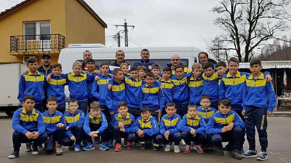 Micii fotbalişti, în cantonament la Moneasa