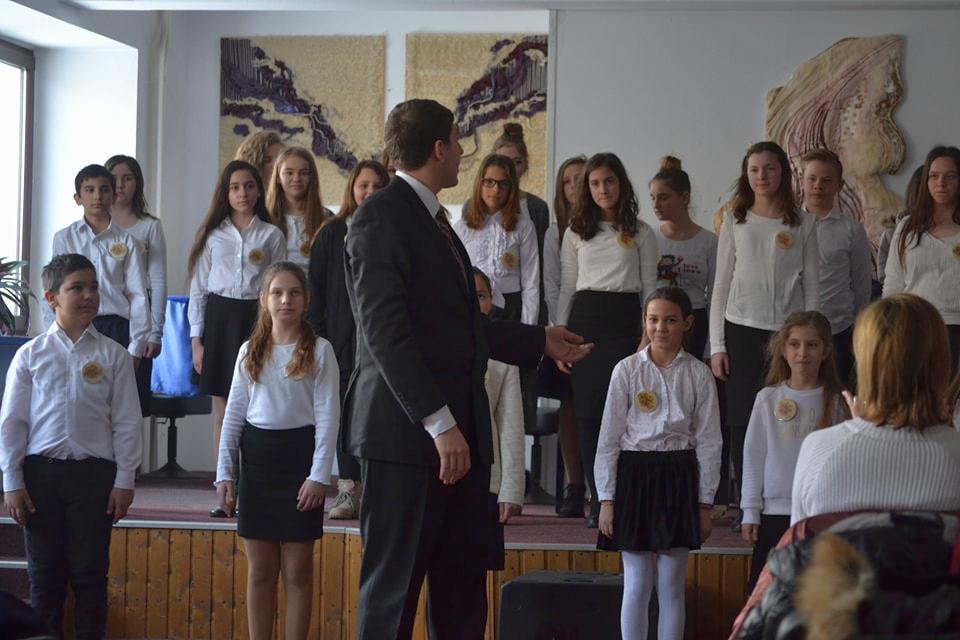 Corul liceului s-a calificat la etapa naţională a olimpiadei (VIDEO)