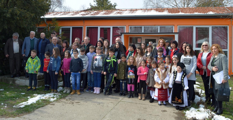 Delegaţie pecicană, în vizită la românii din Serbia (GALERIE FOTO)