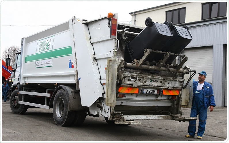 Se modifică programul de colectare al gunoiului