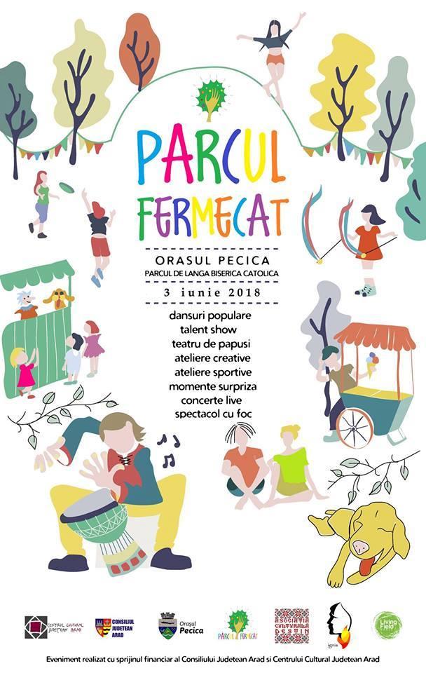 Parcul Fermecat vine duminică la Pecica cu programe pentru copii