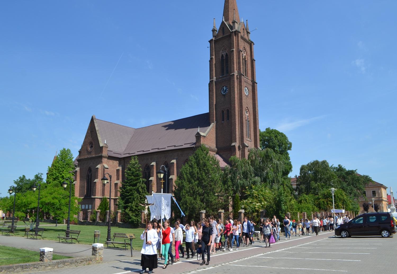 Procesiuni religioase la Pecica şi la Turnu (GALERIE FOTO)