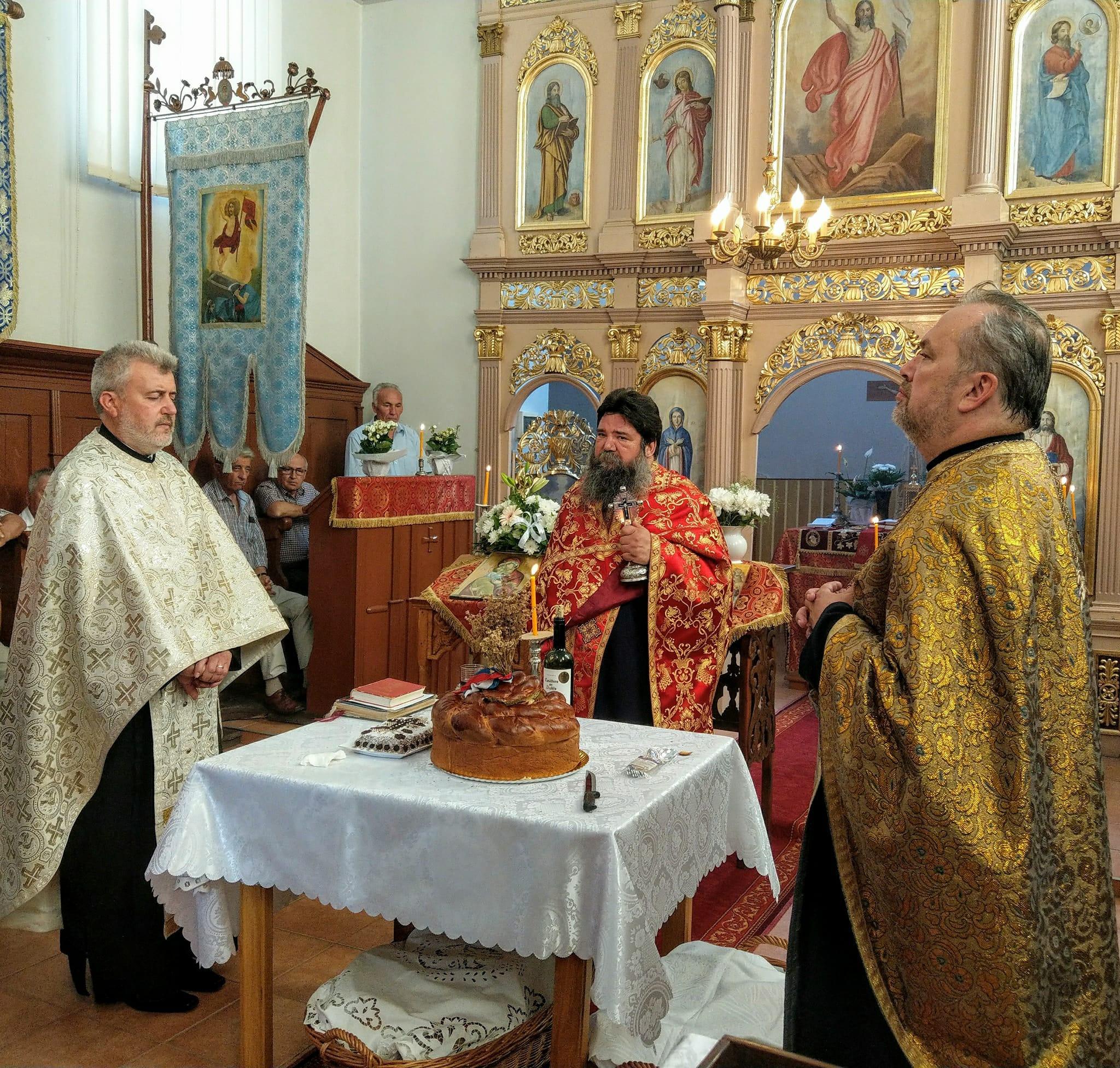 Hramul Bisericii Ortodoxe Sârbe din Pecica