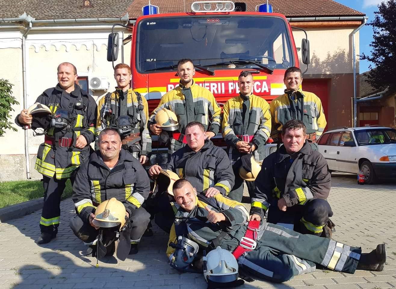 """Campania """"Previn, sunt protejat!"""" inițiată de pompierii voluntari din cadrul Serviciului Voluntar Pentru Situații de Urgență Pecica"""