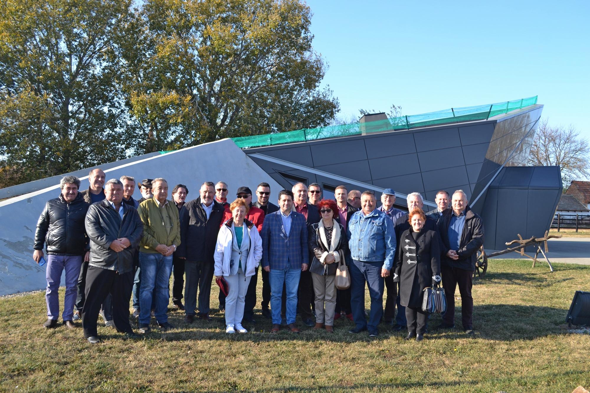 Delegaţie româno-maghiară, în vizită la Pecica