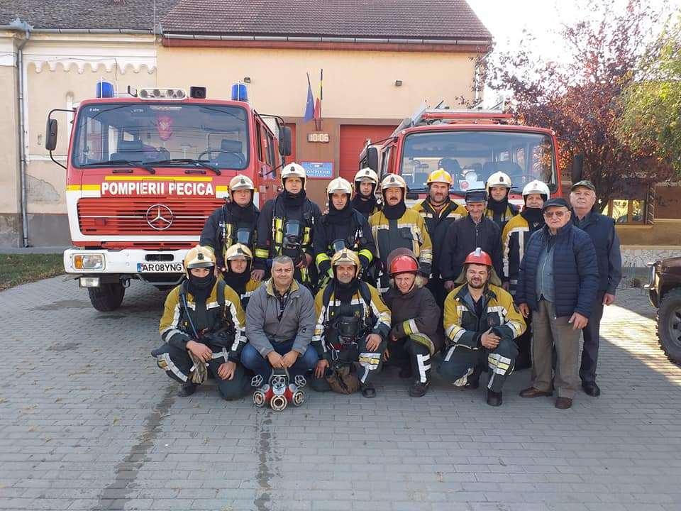 """Campania """"Previn, sunt protejat!"""" inițiată de pompierii voluntari din cadrul  SVSU Pecica (capitolul II)"""