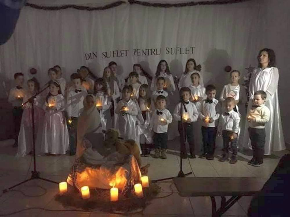 Spectacol de Crăciun la Sederhat