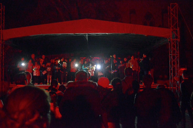 Au cântat pe întuneric pentru planetă (GALERIE FOTO)
