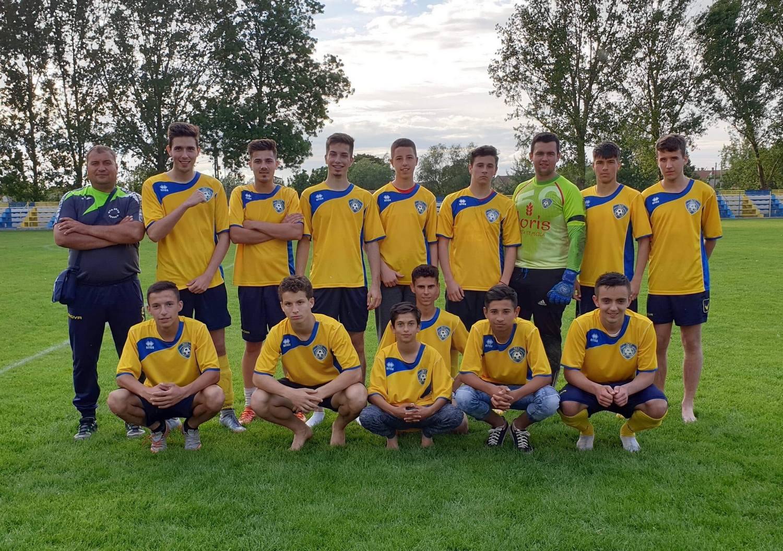 Juniorii ACS Progresul Pecica s-au clasat pe locul secund în play-off