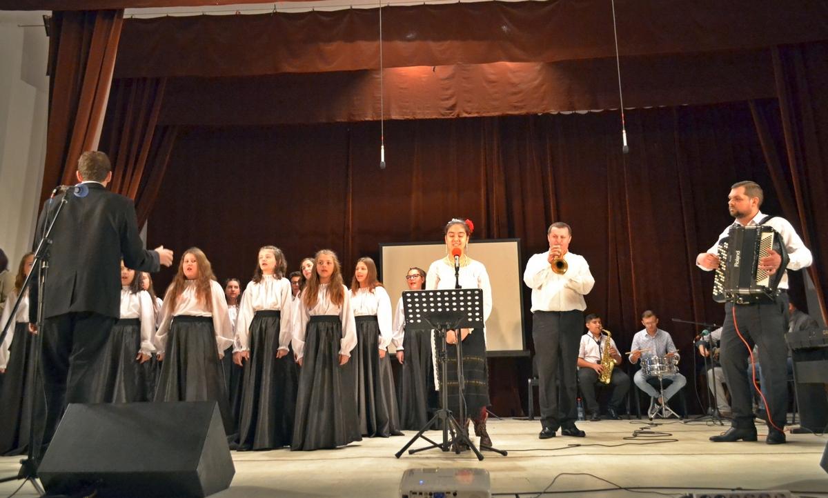 Program cu poezii, cântece patriotice şi prezentări istorice la liceul pecican, de 1 Decembrie (GALERIE FOTO)