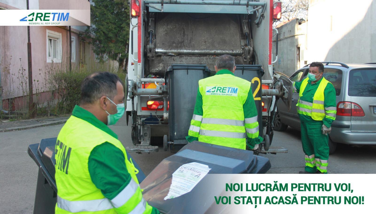 Programul de colectare a deșeurilor pe perioada sărbătorilor pascale