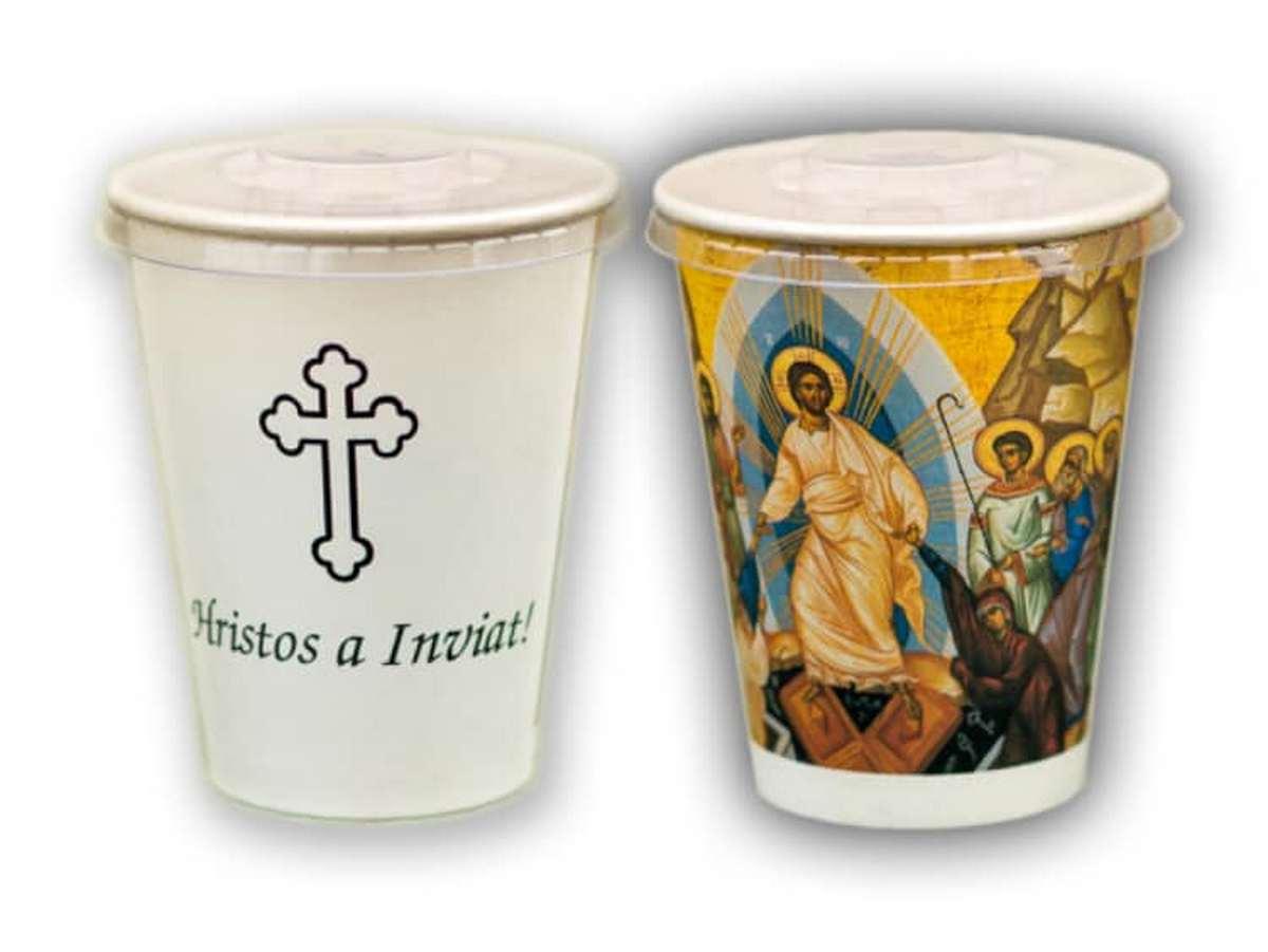UPDATE: Credincioșii, invitați să ia Paști din curtea bisericii