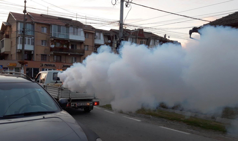 Vineri se face a doua stropire împotriva țânțarilor