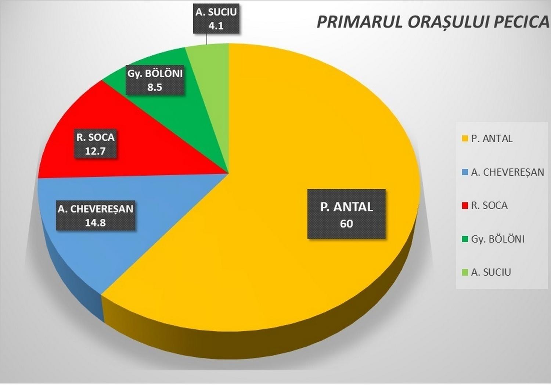 PECICA A VOTAT: Antal a obținut 60%, PNL își păstrează majoritatea în Consiliul Local