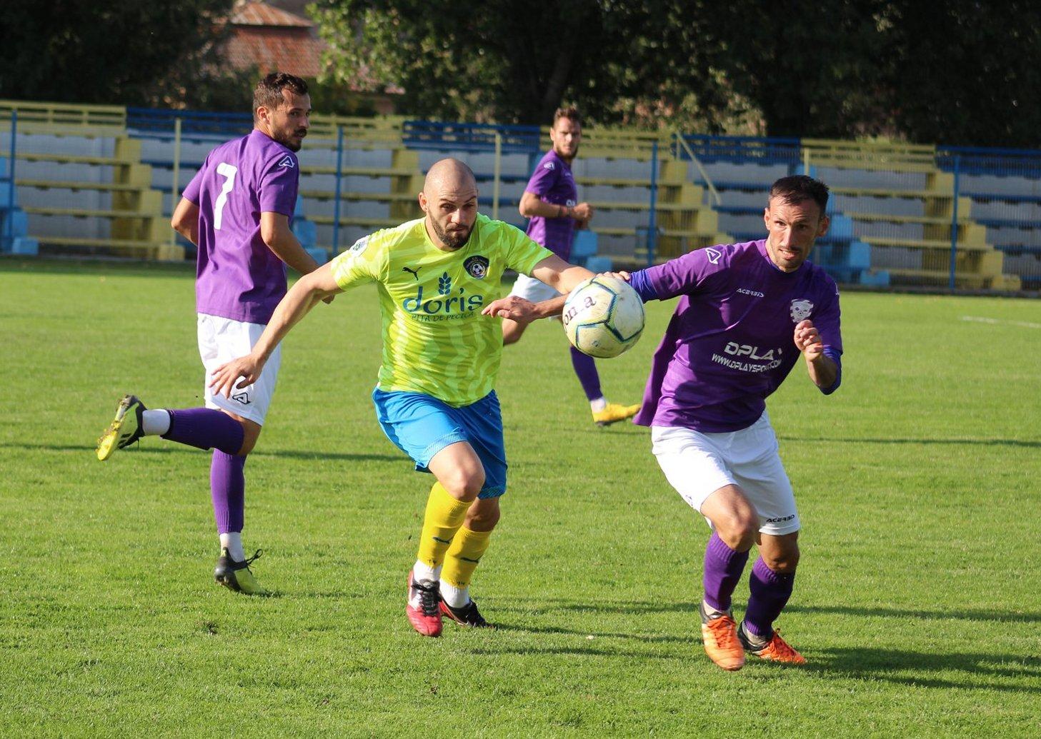 Trei victorii și tot atâtea înfrângeri pentru Progresul Pecica în Liga 3