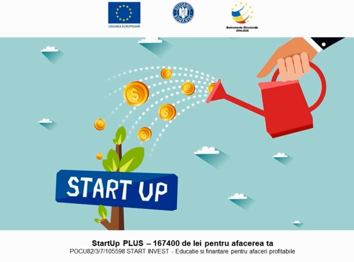Pregătire şi finanţare pentru idei de afaceri
