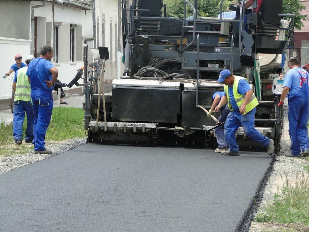 A început modernizarea a 20 de străzi