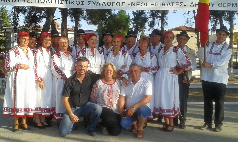 Folclorul pecican a fost prezentat publicului grec (GALERIE FOTO)