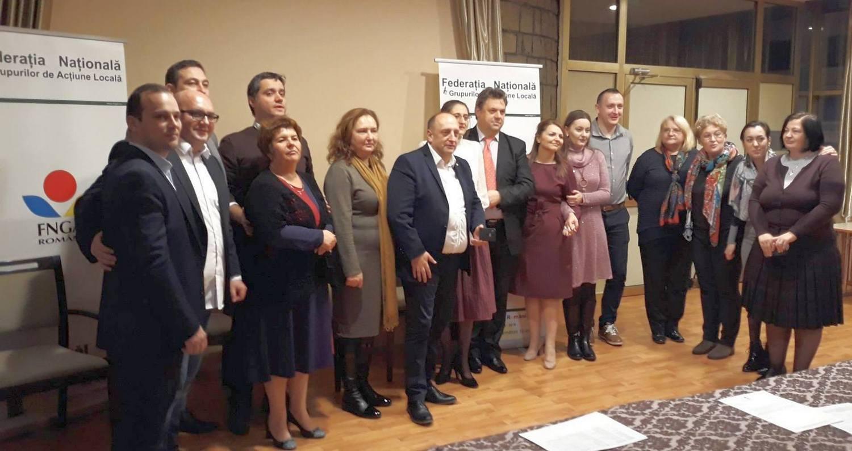 Vicepreşedinte pecican la Federația Naţională a Grupurilor de Acțiune Locală din România