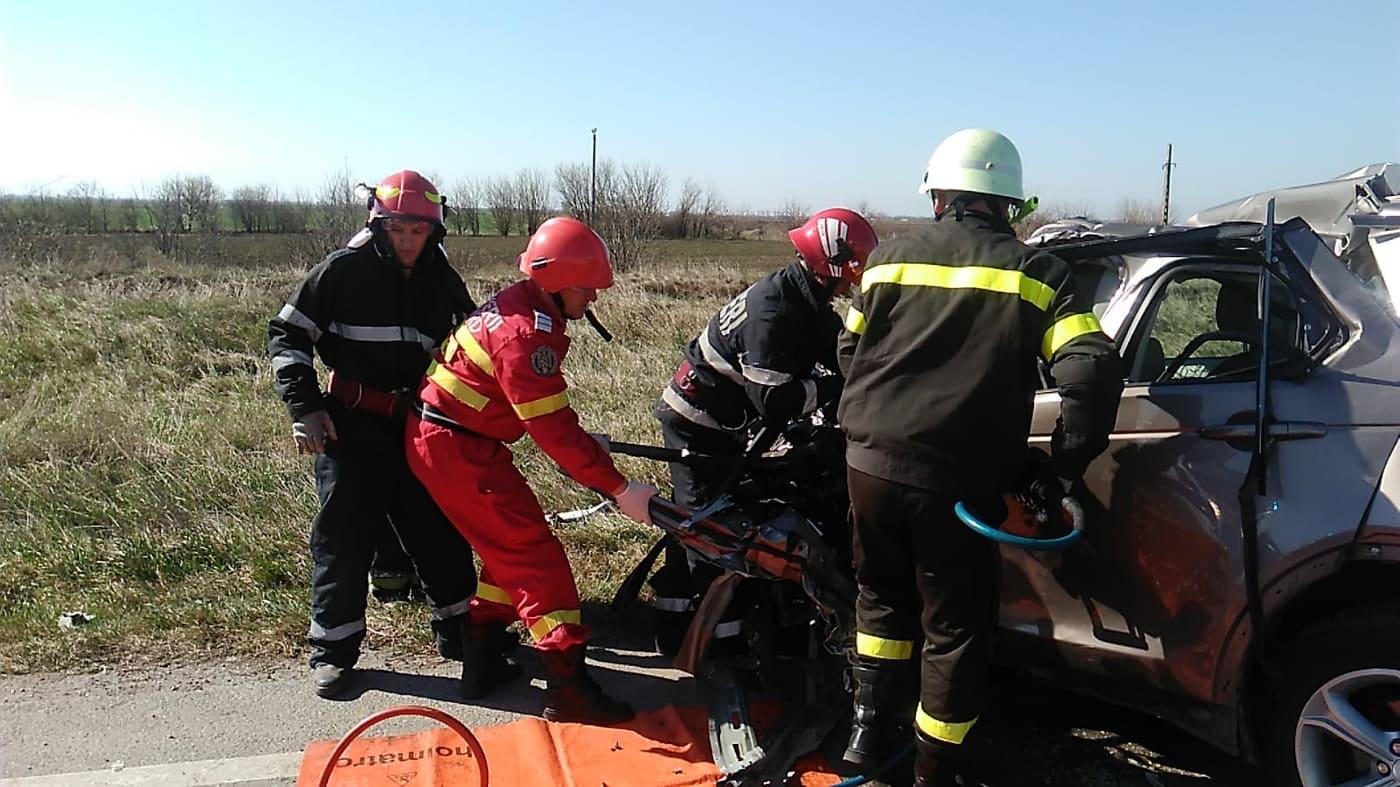 Accident rutier mortal, între Pecica şi Nădlac: UPDATE (GALERIE FOTO)