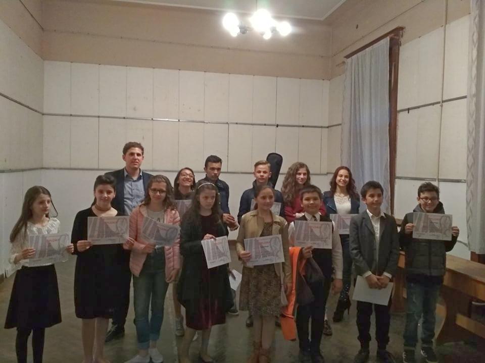 """Succes pentru elevii pecicani la """"Ghiocelul de Argint"""""""