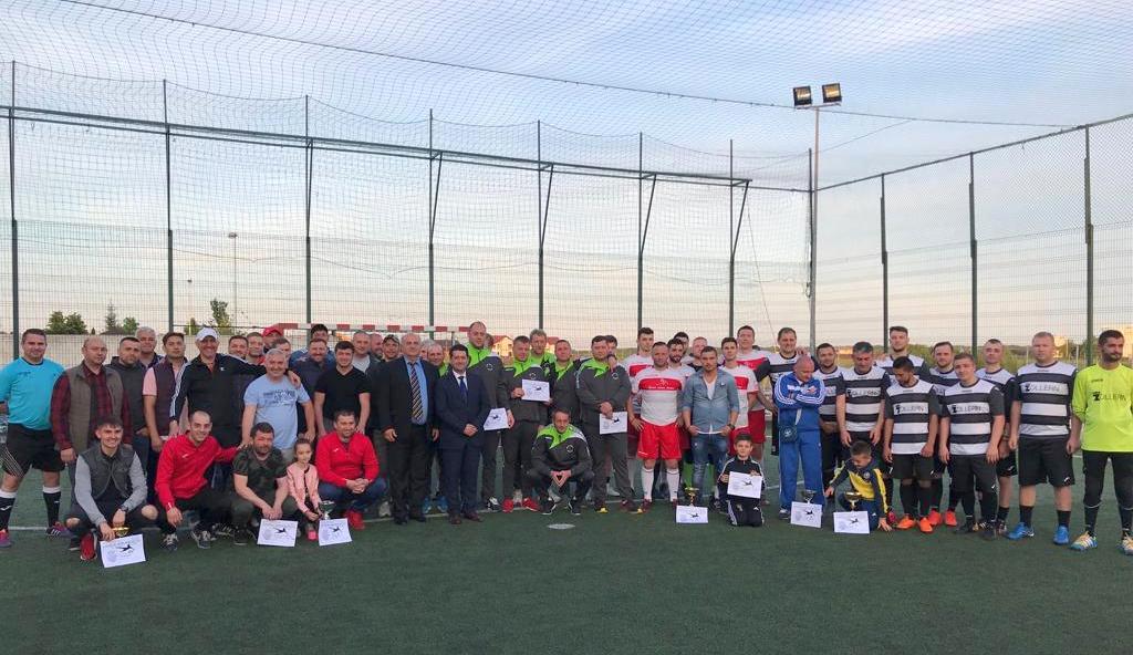 14 echipe au concurat pentru Cupa Zilele Orașului la minifotbal (GALERIE FOTO)