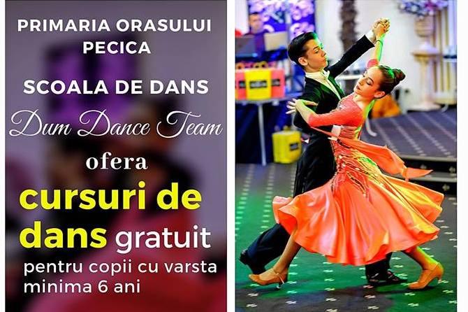 Cursuri gratuite de dans