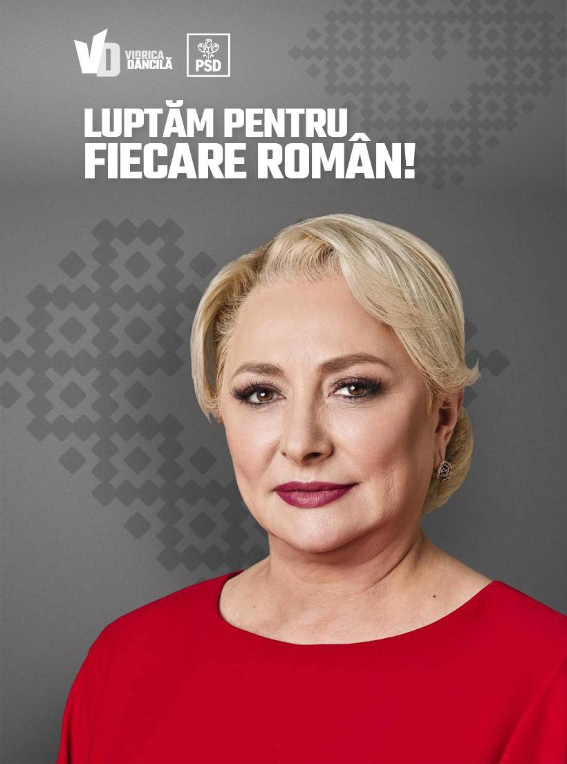 INTERVIU/ Viorica Dăncilă: Voi scăpa România de cel mai toxic președinte pe care l-a avut vreodată