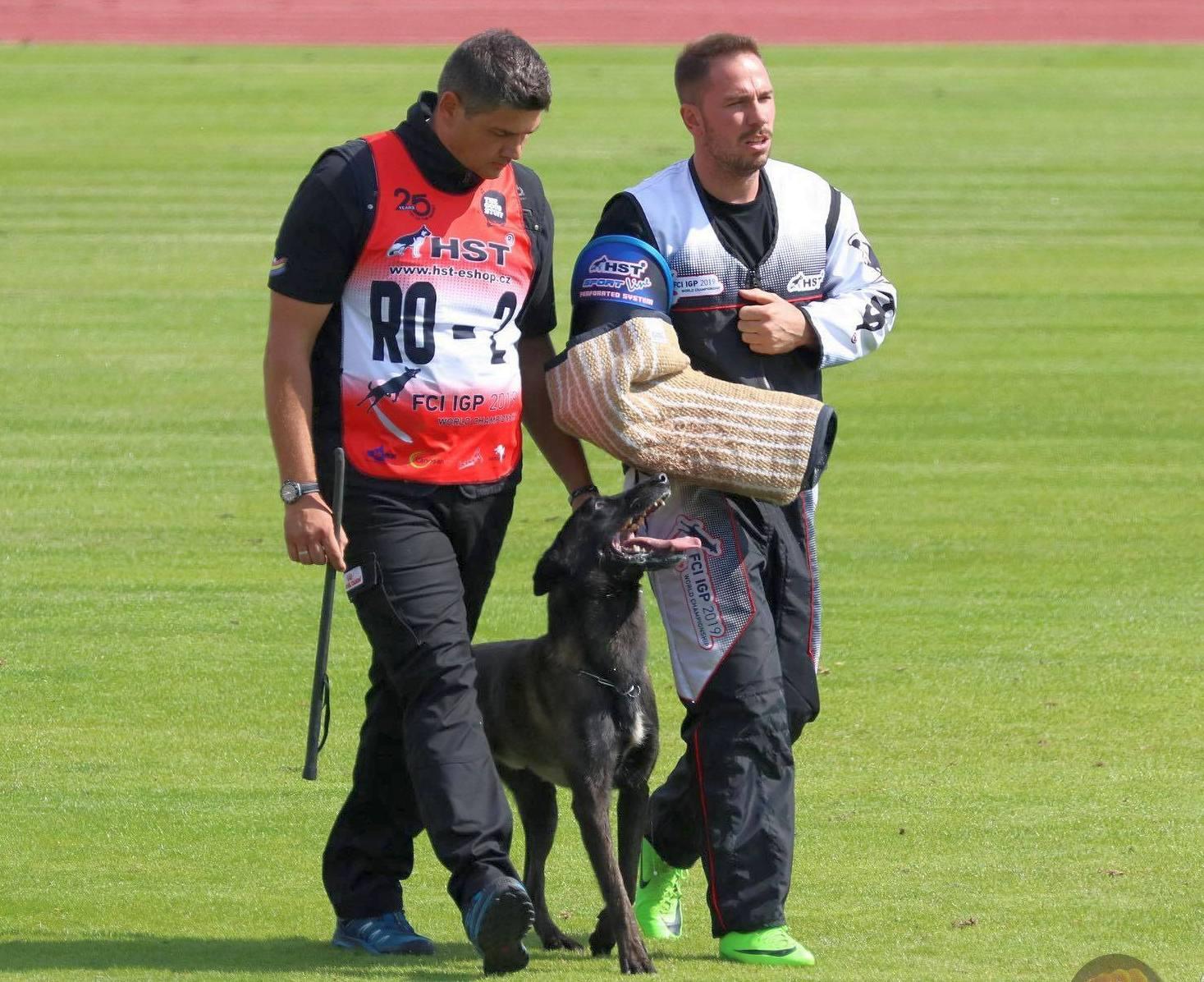 Dresor pecican în echipa României la Campionatul Mondial FCI IGP 2019