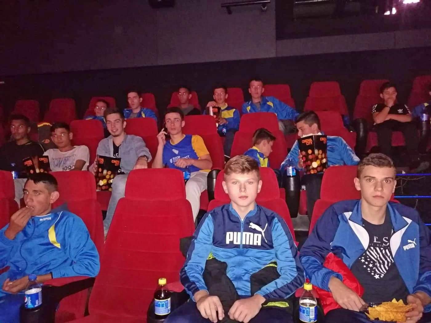 Program de socializare pentru tinerii fotbalişti