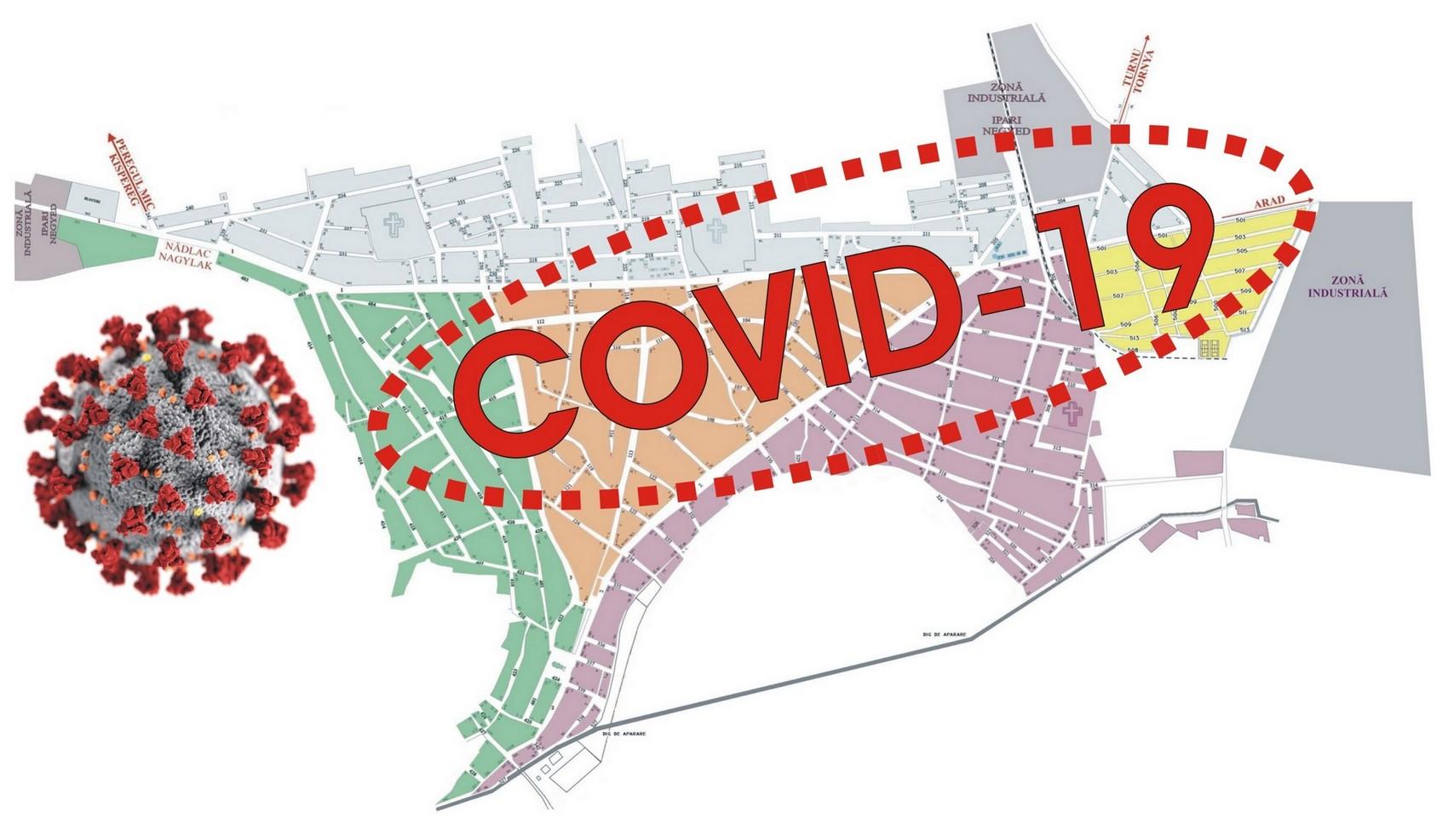 S-a dublat numărul bolnavilor de COVID-19 din Pecica