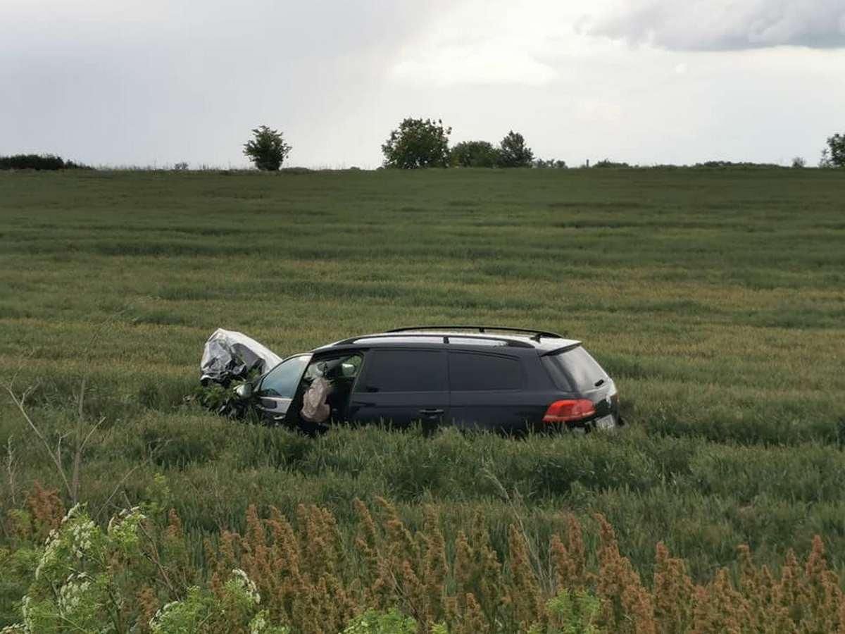 Accident rutier la ieșirea din Pecica