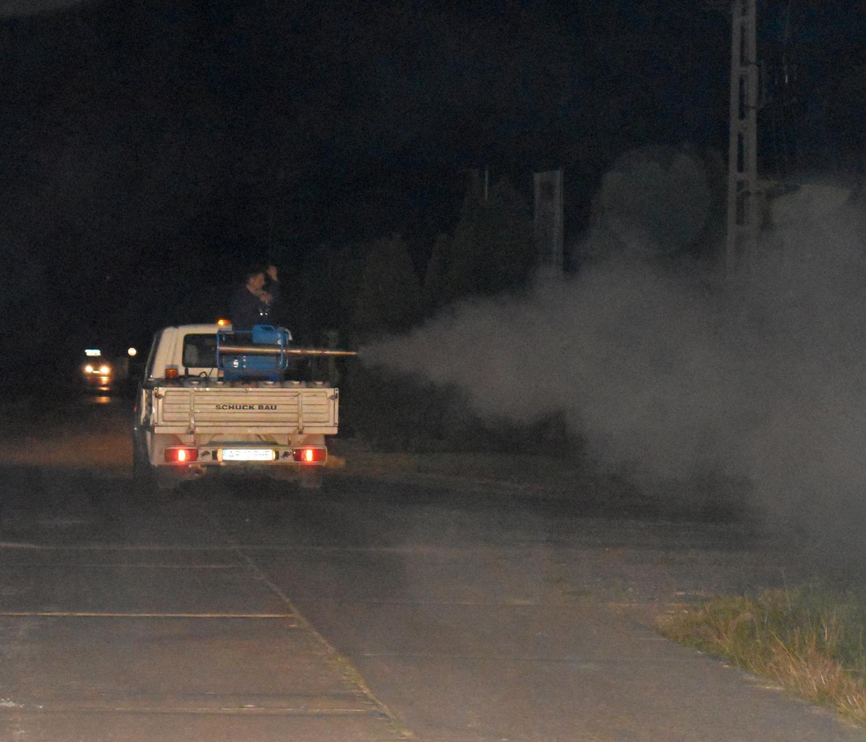 Diseară se stropește împotriva țânțarilor în satele aparținătoare