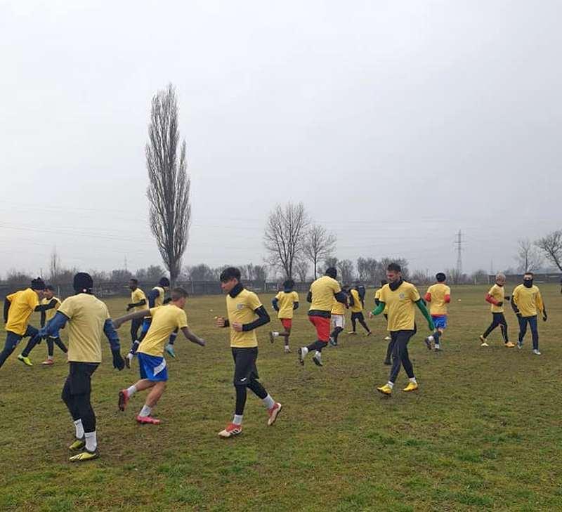 ACS Progresul a început cantonamentul la Hațeg, cu jucători noi și juniori (GALERIE FOTO)