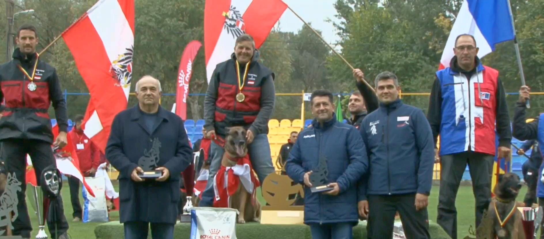 Dresoare austriacă a câștigat Campionatul Mondial de Mondioring